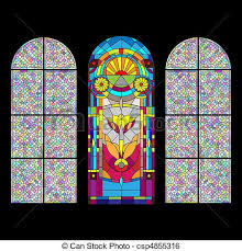 stained glass window stained glass