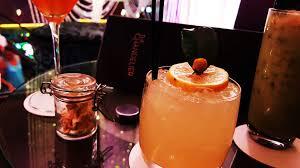 cocktail at the cosmopolitan of las vegas