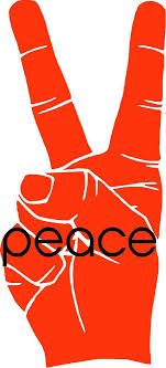 Cool Peace Sign Vinyl Decal Sticker Wall Laptop By Crowbabys 8 00 Peace Sign Art Peace Sign Peace
