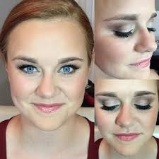 mkj farm wedding bridal makeup soft