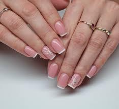 Wedding French Nails French Nails Wedding Weddingnails