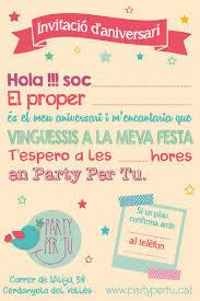 Party Per Tu Cumple Catalan Party Per Tu