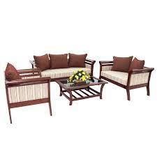 living room set bali mahogany
