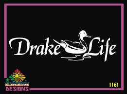 Drake Life Duck Vinyl Decal