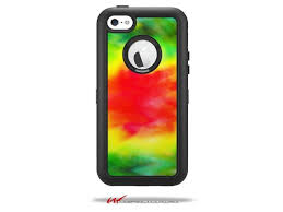 Tie Dye Decal Style Vinyl Skin Fits Otterbox Defender Iphone 5c Case Case Not Included Newegg Com