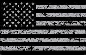 Usa Flag Grey Distressed Sticker Decal Usa Flag Stickers Usa Flag Decals