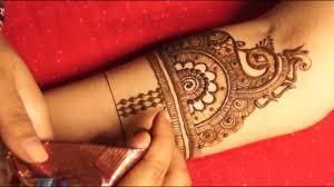 bridal mehndi design on pinterest