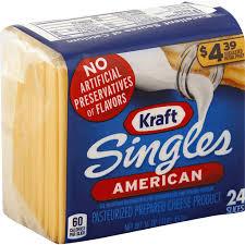 kraft singles american cheese slices 4