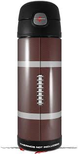 Amazon Com Skin Decal Wrap For Thermos Funtainer 16oz Bottle Football Bottle Not Included By Wraptorskinz Kitchen Dining