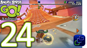 Angry Birds GO Android Walkthrough - Part 24 - STUNT: Track 3 ...