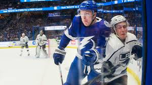 Lightning's Adam Erne earns a role with physicality