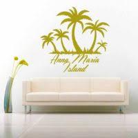 Anna Maria Island Florida Sand Dollar Vinyl Car Window Decal Sticker