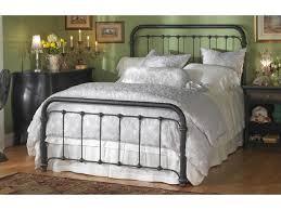 Wesley Allen Iron Beds Queen Braden Metal Bed | Wayside Furniture ...