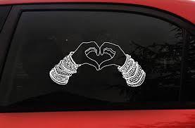 Amazon Com Rave Kandi Plur Sticker Kandi Bracelet Beads Large 11 7 X 5 9 Inch Edm Peace Love Unity Respect Vinyl Decal Sticker For Car Window Wall Laptop Plur Edm Rave
