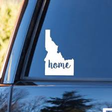 Idaho Home Decal Idaho State Decal Homestate Decals Love Sticker Love Decal Car Decal Car Sticke Personalized Vinyl Decal Love Stickers Car Decals