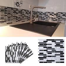 Self Adhesive Mosaic Tile Sticker Kitchen Backsplash Bathroom Wall Tile Stickers Waterproof Peel Stick Pvc Tiles Home Decor Buy At The Price Of 4 26 In Aliexpress Com Imall Com