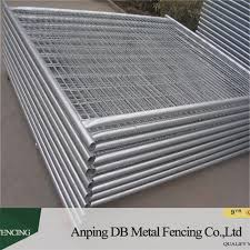 Heavy Duty Portable Galvanized Temporary Fence Panels For Construction Zone China Factory