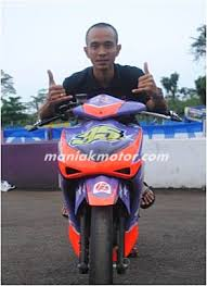 modifikasi honda new blade 110 indoprix