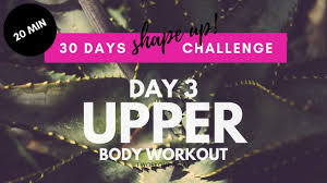 no equipment upper body workout at