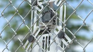 Lynkspyder Gopro Chain Link Fence Mount Ingenious Design That Could Be Diy D If You Wanted Gopro