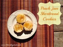 peach jam shortbread cookies recipe