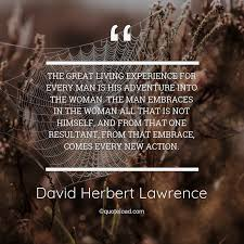 the great living exper david herbert lawrence about experience