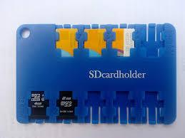 micro sim micro sd memory card holder