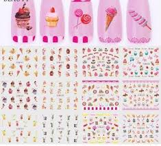 Full Beauty 12 Design Nail Water Transfer Sticker Set Cake Ice Cream Design Decal For Art Decor Slider Foils Chbn817 828 3d Nail Stickers How To Use Nail Stickers From Jerry02 1 98 Dhgate Com