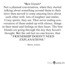 best friends not a plan quotes writings by shreya