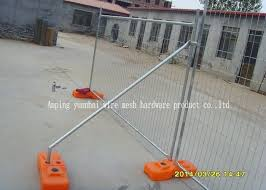 Swimming Pool Temporary Construction Fence Panels Galvanized Steel Pipes Frame