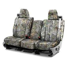 camouflage 1st row custom seat covers