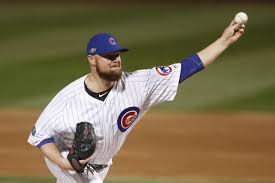 Cubs pitcher Jon Lester lifted with hamstring tightness in home ...