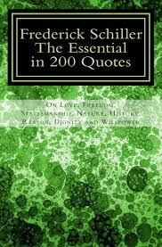 frederick schiller the essential in quotes on love nature