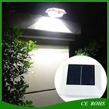 China 6led Outdoor Fence Lamp Light Control Solar Powered Garden Wall Light China Solar Fence Light Solar Roof Light