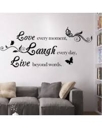 deals on live laugh love quotes home decorations removable diy