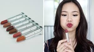 maybelline powder matte lipstick swatch