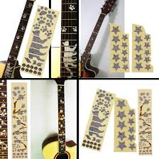 2020 High Quality Electric Acoustic Guitar Inlay Sticker Fretboard Markers Decal Guitarra Stickers Instrument Accessories From Great89 5 67 Dhgate Com