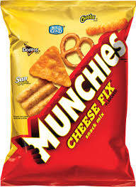 munchies cheese fix flavored snack