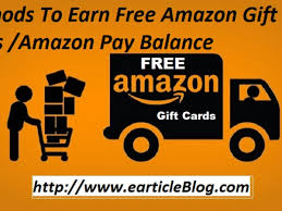 earn free amazon gift cards in india