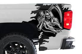 Chevy Silverado 2014 2017 Custom Vinyl Decal Wrap Kit Reaper Factory Crafts