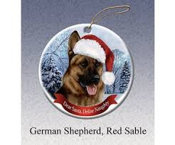 pet gifts round ornament german