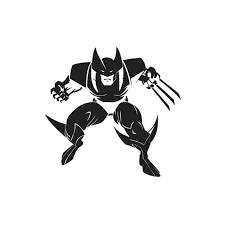 Marvel X Men Logan Wolverine V4 Decal