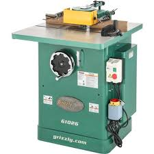 3 Hp Shaper At Grizzly Com