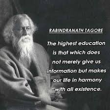 rabindranath tagore quotes on education best popular quotes
