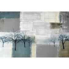 Parvez Taj Blue Trees 30 Inch X 20 Inch Canvas Wall Art Bed Bath Beyond
