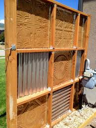 Corrugated Metal Fence Update Part 2 Noelle O Designs