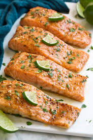 Baked Salmon with Brown Sugar and Lime ...