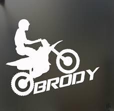 Zk Dirt Bike Sticker Custom Car Window Sticker Motocross Buy 2 Get 1 Free Extra Wish