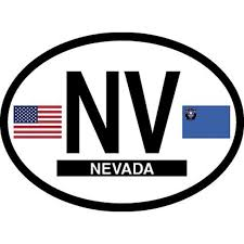 Nevada Oval Decal For Auto Truck Or Boat Walmart Com Walmart Com