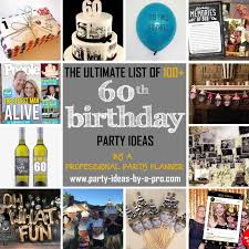 100 60th birthday party ideas by a